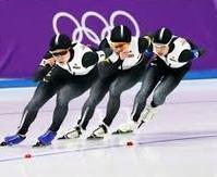 チームパシュートで日本が一糸乱れぬ美技で3つ目の金メダル! - Would-be ちょい不良親父の世迷言