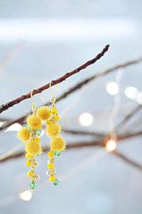 mimosa earrings* - Avenue No.8