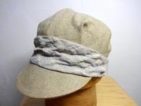 リネンオックスタックキャップ - 倉敷美観地区の帽子店 Chapeaugraphy