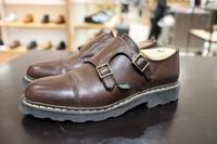 Paraboot Williamを磨く - シューケアマイスター靴磨き工房 三越日本橋本店