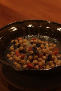 ひよこ豆とマッシュルームのシチュー - Life w/ Pure & Style