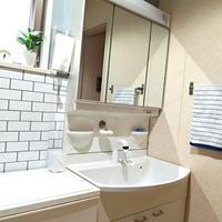 洗面台の撥水コーティングと掃除が楽なゴミ受け - park house note*