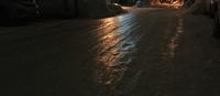 テッカテカのツルンツルン    「町 - 筆文字・商業書道・今日の一文字・書画作品<札幌描き屋工山>
