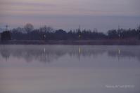 朝の情景@ 水上池 - 東大寺が大好き