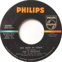 The 4 Seasons – Big Man In Town / Little Angel - まわるよレコード ACE WAX COLLECTORS