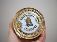 缶詰バター - 宙吹きガラスの器