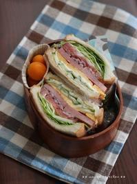ボリュームサンドイッチ(๑¯﹃¯๑)♪ - **  mana's Kitchen **