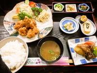 京都市 高コスパの唐揚げ定食♪ 漬物割烹 ふく井 - 転勤日記