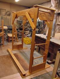 【受付終了】レンタル家庭用うんてい・ブレキエーションNタイプ(旧ベースなしタイプ)W1800×H1750×D1040平均台付きNo.1009 - MAGINU STYLE by Art Furniture Gallery