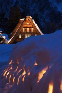 世界遺産・雪の五箇山合掌造り「幻想のあかり」は如何に - 『私のデジタル写真眼』
