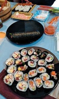 お寿司マゴ会食 - うまこの天袋