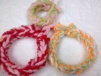 ☆2本指で楽しむ編み編みⅠ・アイディア編☆ - ガジャのねーさんの  空をみあげて☆ Hazle cucu ☆