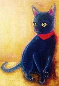 猫の絵。。ただ今ここまで出来ました♪^^ - rubyの好きなこと日記