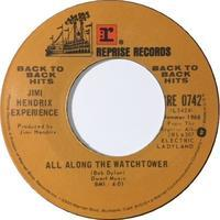 Jimi Hendrix Experience – All Along The Watchtower / Crosstown Traffic - まわるよレコード ACE WAX COLLECTORS