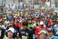 東京マラソン2018(コスプレ健在) - マルオのphoto散歩