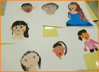 2/25子供アート教室~自分を描こう!肌の色を作ってみよう~ - miwa-watercolor-garden