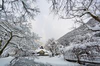 朝来 雪三景 - 彩