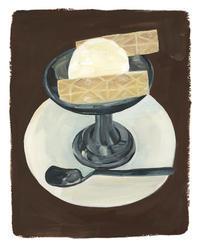 今日の絵「アイスクリーム」 - vogelhaus note