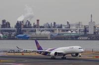 2/21 TG A350XWBを羽田で。+αで。 - uminaha-t's blog
