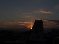 太陽柱がびょーんと上に伸びてます - 北東北お天気BLOG