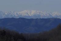 残雪の山 - 風の彩り-2