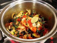 7年前の料理教室のレシピより 豚肉のオリーブ煮込み - Coucou a table!      クク アターブル!