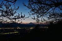 田島山夕景 - 風とこだま