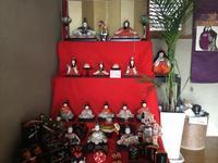 とーちきのお雛祭り - ギャラリーとーちきの夢布布日記