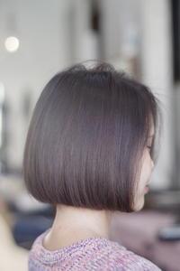ボブ切りっぱなし - 空便り 髪にやさしいヘアサロン 髪にやさしいヘアカラー くせ毛を愛せる唯一のサロン