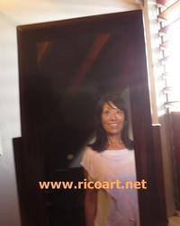 ジャマイカ育ちの娘さんからヘアカット - ジャマイカブログ Ricoのスケッチ・ダイアリ