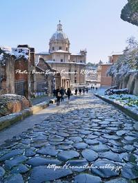 """""""ローマ!「雪の日のギャク・ソング♪」 ~ A Roma nevica ~ """" - 「ROMA」在旅写ライターKasumiの最新!イタリア&ローマあれこれ♪"""
