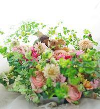 島根までお誕生日おめでとうございます&ご結婚10周年おめでとうございますBYうさぎ - 一会 ウエディングの花