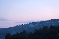一件落着HPインク問題、地球規模化と夕空の月 - イタリア写真草子 Fotoblog da Perugia
