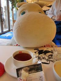 【東京ドーム】ムーミンカフェでムーミンママと一緒にランチ【ラクーア】 - お散歩アルバム・・磯菊の頃