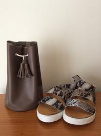 巾着と靴 - dolcevita