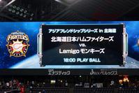 札幌ドームの日台親善試合を観戦しました - 照片画廊