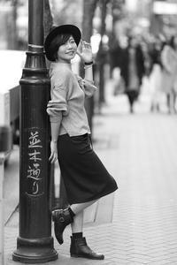愛梨ちゃん22 - モノクロポートレート写真館