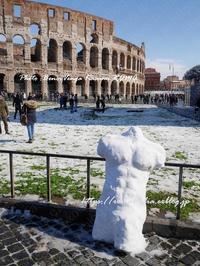 """""""行きますっ!イケメン(?!)雪だるま⛄"""" - 「ROMA」在旅写ライターKasumiの最新!イタリア&ローマあれこれ♪"""