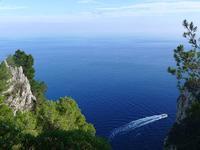 カプリ島の海 (Capri 11) - エミリアからの便り