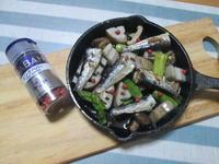お手軽♪ オイルサーディンと蓮根のアヒージョ - candy&sarry&・・・2