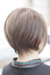 ボブ定番のグラボブ - 空便り 髪にやさしいヘアサロン 髪にやさしいヘアカラー くせ毛を愛せる唯一のサロン