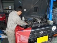 JA11 ジムニー パワステギアボックス オイル漏れ 修理(*´﹀`*) - ★豊田市の車屋さん★ワイルドグース日記