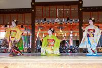 祇園さんの節分祭・舞踊奉納(祇園甲部柴乃さん、茉利佳さん、豆純さん) - 花景色-K.W.C. PhotoBlog