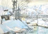 山の吊橋ァどなたが通る・・ - ryuuの手習い