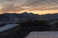 二上山鞍昇り ~染まるぶどう畑 - katsuのヘタッピ風景