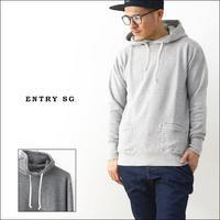 ENTRY SG[エントリーセスジー] CURRENT【H3020LS】[カレント] SWEAT PULL OVER PARKA / スエットプルオーバーパーカ MEN'S - refalt blog
