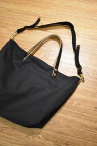 "CHARLIE BORROW:DRAP MILITARY COTTON RIP STOP ""NEW COAL BAG"" - JUILLET"