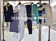"""""""2018 Spring New by Spiral's Select...3/3sat"""" - SHOP ◆ The Spiralという館~カフェとインポート雑貨のある次世代型セレクトショップ~"""