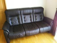 ソファーを新調 - 石と、居る。