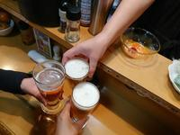 琉球小料理つぼや@新橋でぷちオフ会♪ - 新 LANILANIな日々